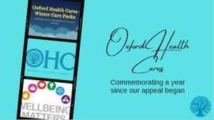 Reflecting on a year of Oxford Health Cares