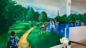 A colourful mural of memories for Abbey Ward