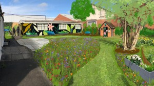We've got the green light for Abingdon's peace and tranquility garden